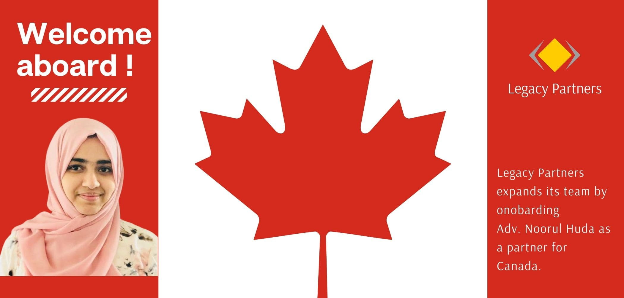 Legacy Partners expanded its services to Canada